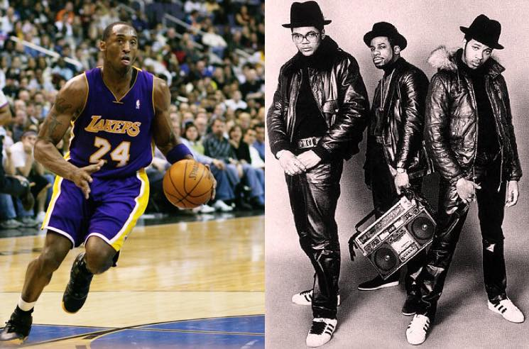 ​Run-DMC Recorded a Rap Song with Kobe Bryant
