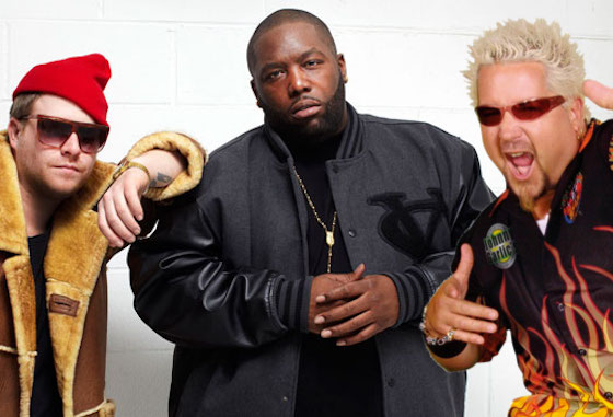 Turns Out Run the Jewels Syncs Perfectly with 'Diners, Drive-Ins and Dives'
