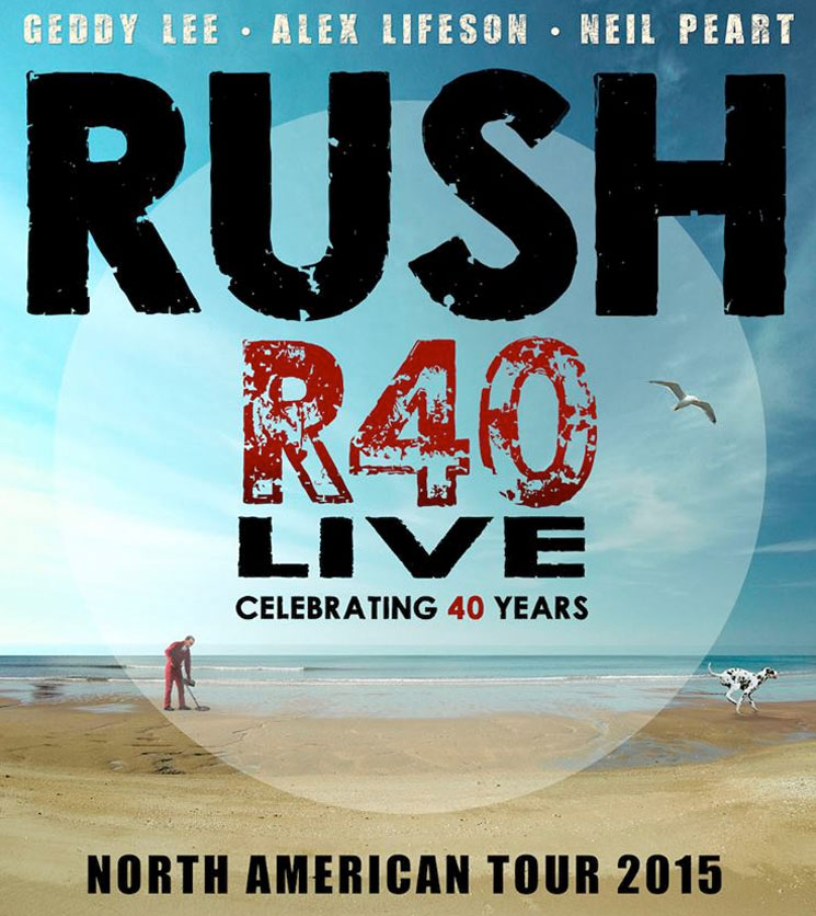 Rush Roll Out 40th Anniversary Tour Dates