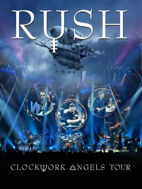 Rush Unveil 'Clockwork Angels' Live Release