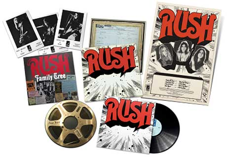 Rush Remaster Self-Titled Debut for 40th Anniversary Reissue
