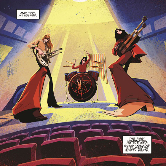 Rush Ready 'A Farewell to Kings' Graphic Novel