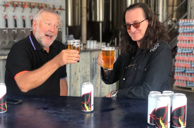 Rush Tap Henderson Brewing for Canadian Golden Ale