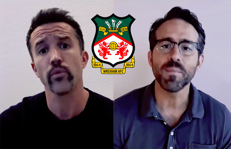 Rob McElhenney and Ryan Reynolds Bought a Welsh Football Team for Some Reason