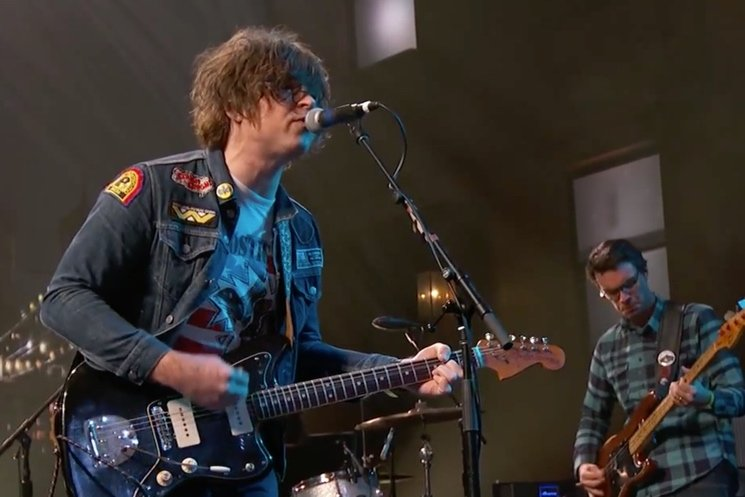 Ryan Adams 'Welcome to New York' (Taylor Swift cover) (live on 'Kimmel')