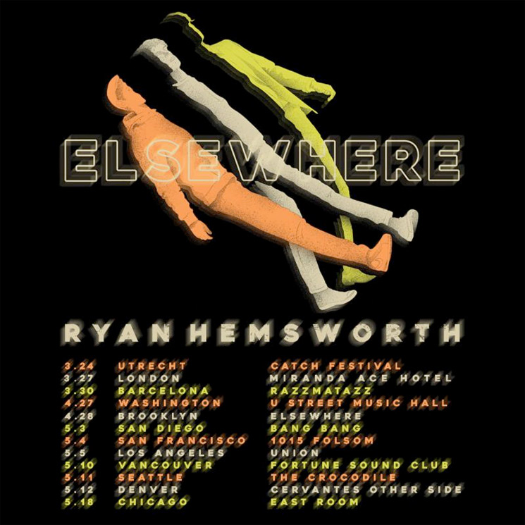 Ryan Hemsworth Takes New 'Elsewhere' Album on Tour