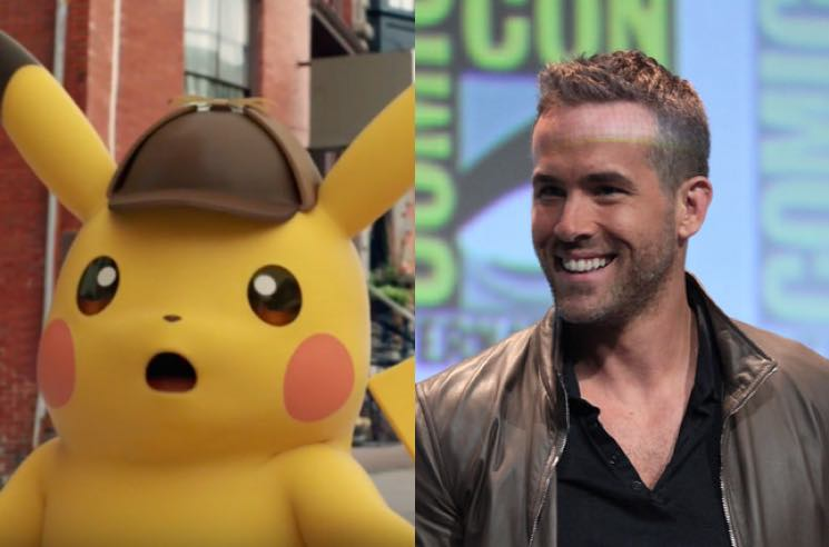 Ryan Reynolds Will Play Detective Pikachu in Live-Action Pokémon Movie