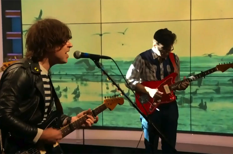 "Ryan Adams ""Bad Blood"" / ""Style"" (Taylor Swift covers) (live on 'The Daily Show')"