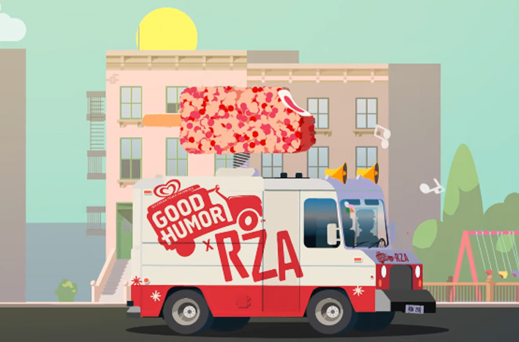 RZA Creates A New Ice Cream Truck Jingle