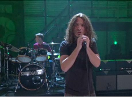 "Soundgarden ""Black Rain"" / ""Hunted Down"" (live on <i>Conan</i>)"
