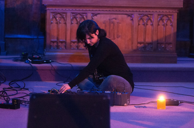 ​Sarah Davachi  Fort Massey United Church, Halifax NS, May 29