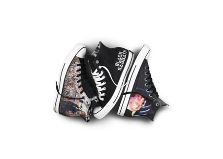 Black Sabbath's Classic Albums Celebrated with Line of Converse Shoes