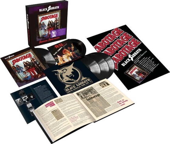 Black Sabbath Treat 'Sabotage' to Super Deluxe Vinyl Box Set