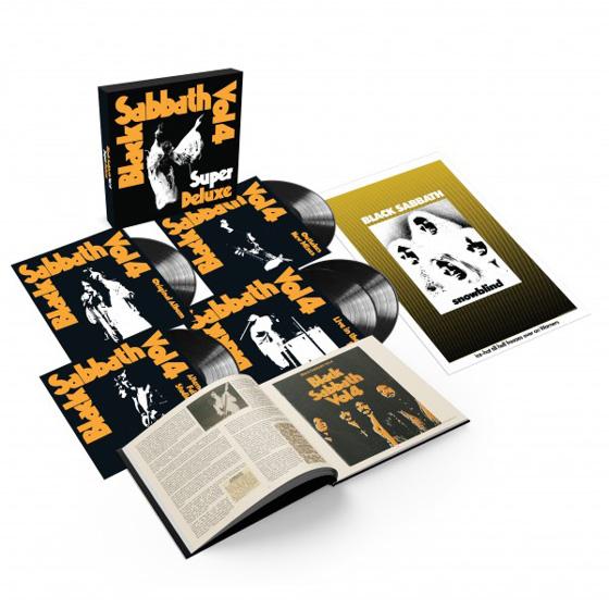 Black Sabbath Give 'Vol. 4' the Super Deluxe Vinyl Box Set Treatment