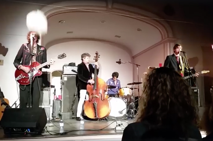 The Sadies' Travis Good Nearly Got Smoked by a Falling Light in Nova Scotia