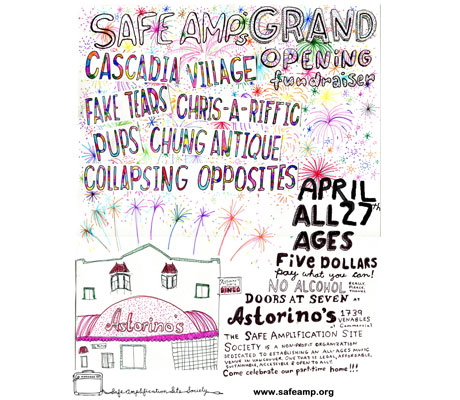 Safe Amplification Site Society Launches New All-Ages Venue in Vancouver