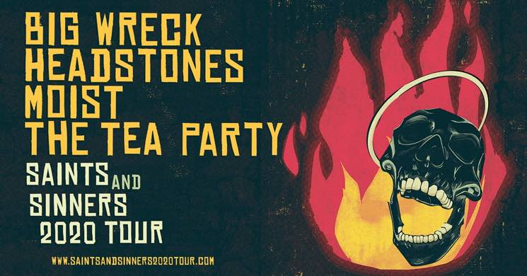 Big Wreck, Headstones, Moist and the Tea Party Join Forces for Canadian Tour