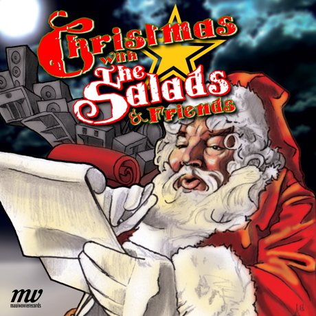 The Salads 'Christmas with the Salads & Friends' (album stream)