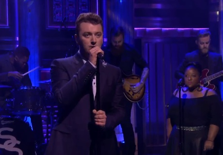 "Sam Smith ""I'm Not the Only One"" (live on 'Fallon')"