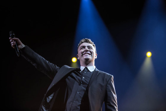 Sam Smith Rogers Arena, Vancouver BC, February 4
