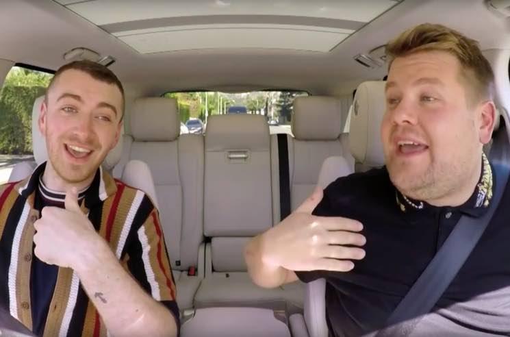 Witness Sam Smith and James Corden Belt It Out on 'Carpool Karaoke'