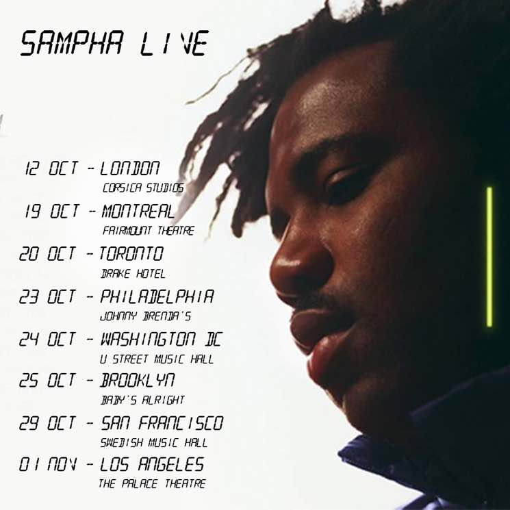 Sampha to Hit Canada on Fall Tour