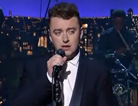 "Sam Smith ""Stay With Me"" (live on 'Letterman')"
