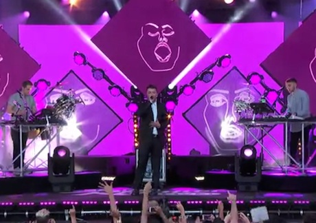 Disclosure 'Latch' (ft. Sam Smith) (live on 'Kimmel')