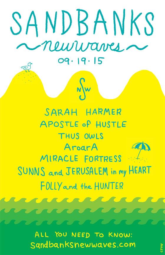 Sandbanks New Waves Festival Returns with Sarah Harmer, Apostle of Hustle