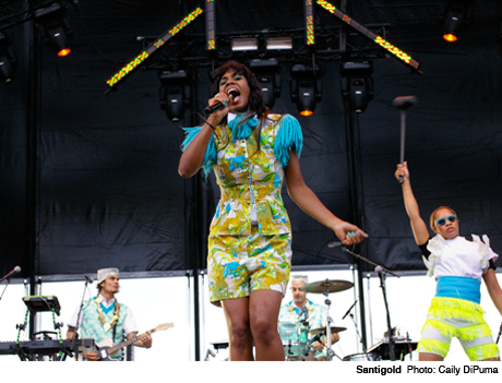 Santigold Gorge Amphitheatre, George WA May 25