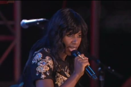 "Santigold ""The Keepers"" (live on 'Colbert')"