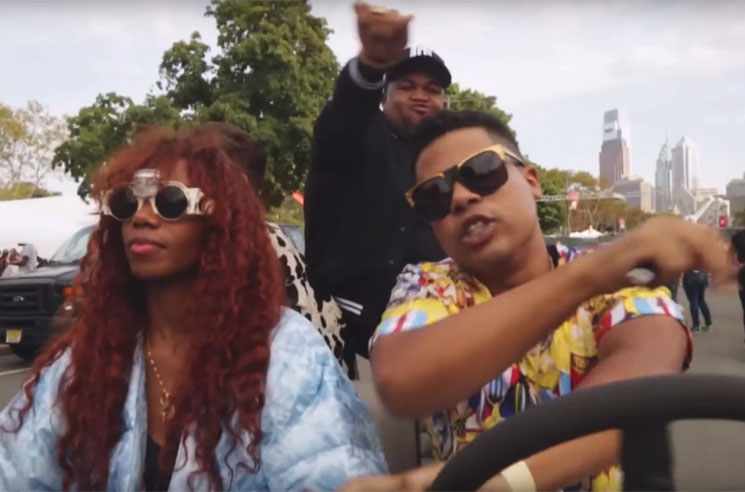 "Santigold ""Who Be Lovin' Me"" (ft. ILOVEMAKONNEN) (video)"