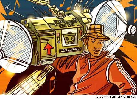 Radio R/evolution Podcasting and Satellite Offer Opposite Innovations