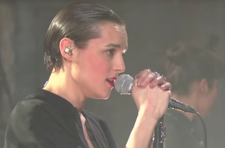 Savages Bring Brooding Rendition of 'Adore' to 'Colbert'