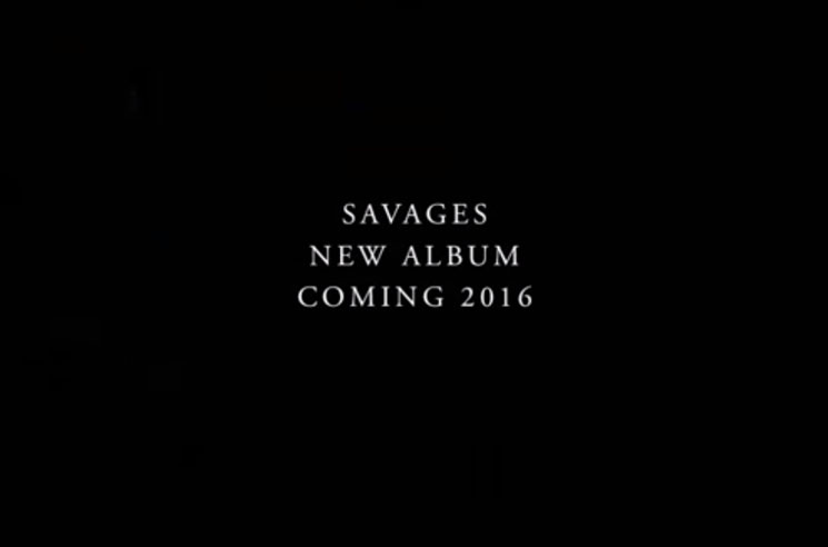 Savages New Album Trailer