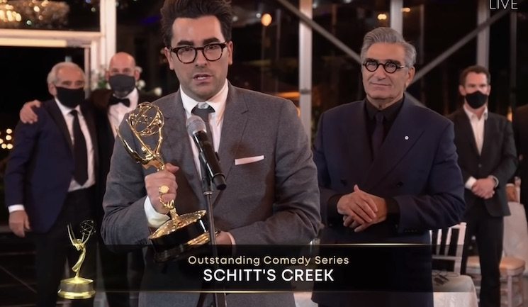 'Schitt's Creek' Sweeps the Emmys and Breaks Records with an Historic Seven Wins