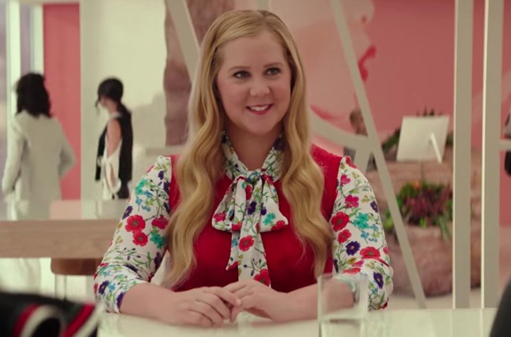 ​Amy Schumer Unveils 'I Feel Pretty' Trailer on 'Ellen'