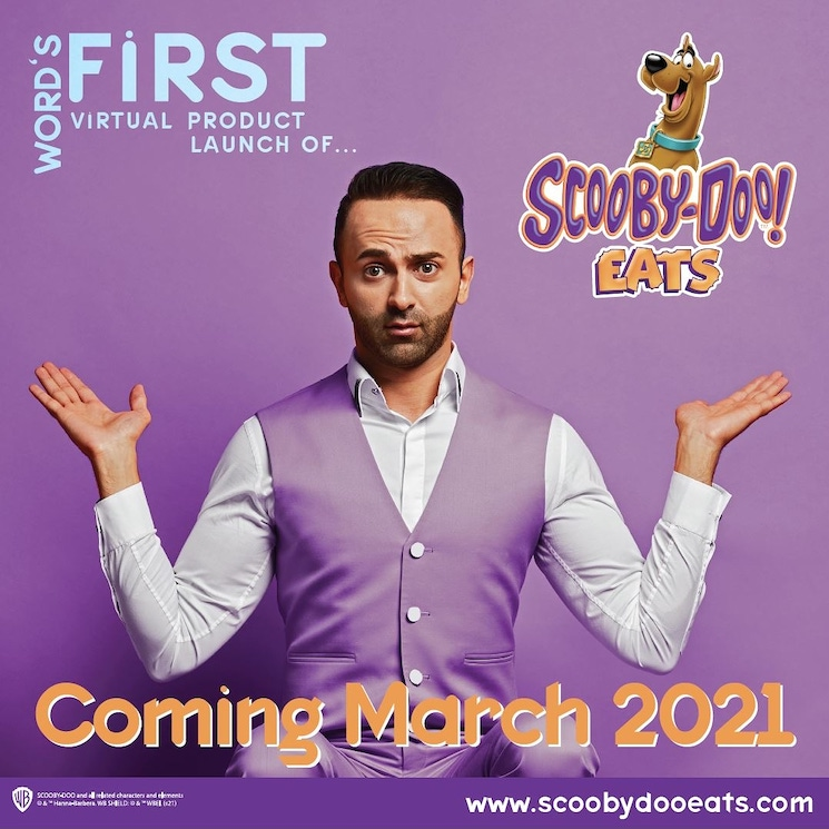 Canadian Cartoon Food Disrupter Nathen Mazri Discusses His New Venture Scooby-DooEATS