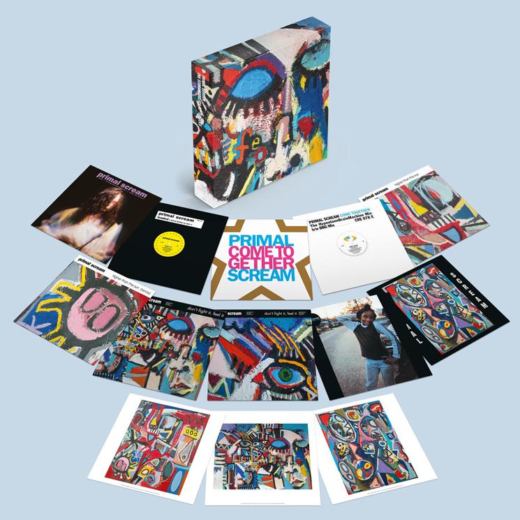 Primal Scream Celebrate 30 Years of 'Screamadelica' with a Massive 10-LP Box Set