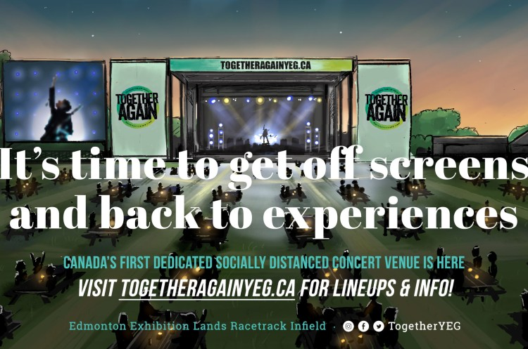 Together Again Outdoor Concert Series Brings Live Music Back to Edmonton This Summer