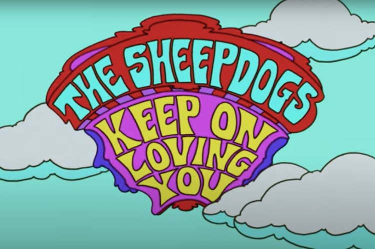 The Sheepdogs Get a Muppet Makeover in New Video for 'Keep on Loving You'
