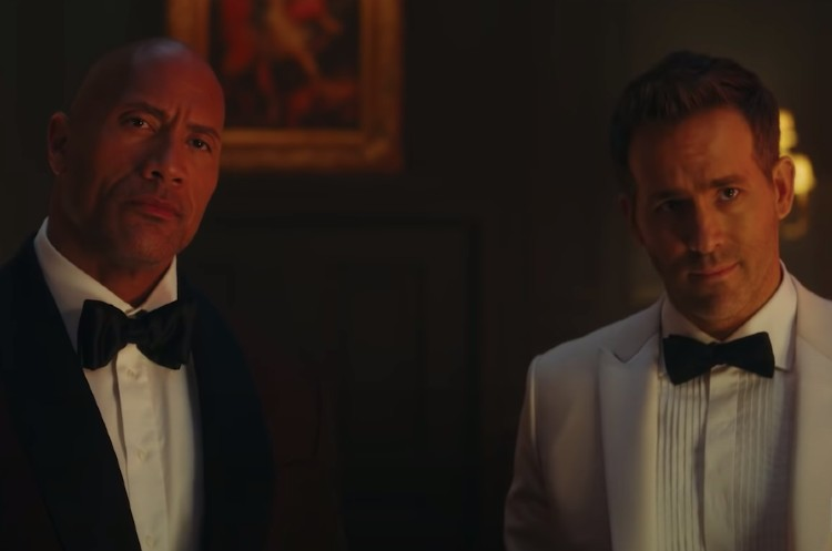 Ryan Reynolds and Dwayne Johnson Are Work Wives in 'Red Notice' Teaser Trailer