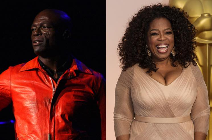 Seal Just Called Out Oprah over Harvey Weinstein