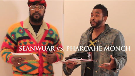 "Sean Price ""Sean Price as 'Seanwuar' Vs. Pharoahe Monch"" (video)"