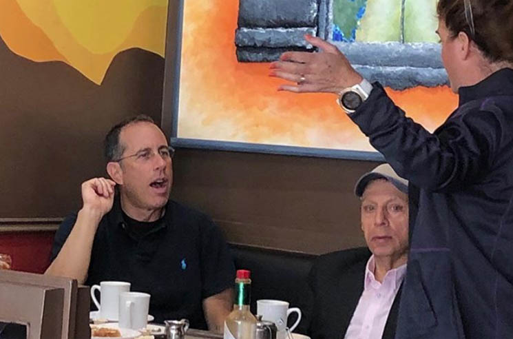 ​Jerry Seinfeld Spotted Eating at a Whitby Restaurant Called the Fart Café