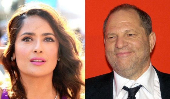 Salma Hayek Opens Up About Sexual Harassment from Harvey Weinstein