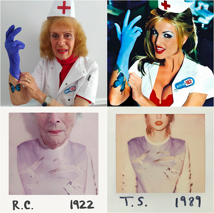 British Nursing Home Residents Have Recreated Some Classic Album Covers