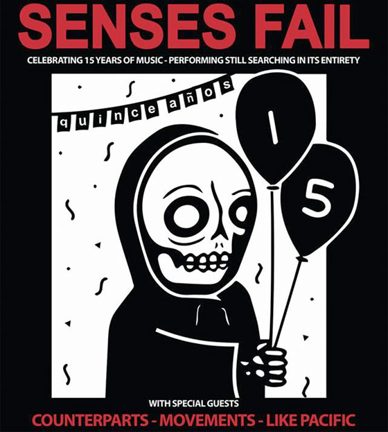 Senses Fail to Play 'Still Searching' in Full on 15th Anniversary Tour