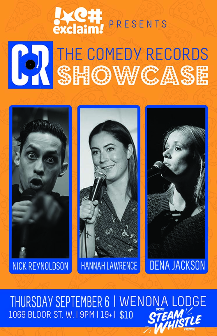Nick Reynoldson, Dena Jackson and Hannah Lawrence Ride for Scarborough at a Comedy Records/Exclaim! Standup Showcase