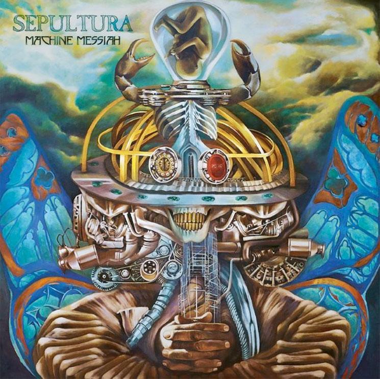 Sepultura Return with 'Machine Messiah'